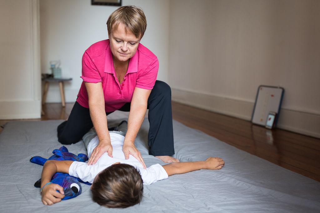 Massage pour enfant Eaux-Vives